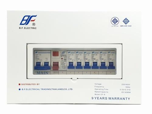 BF เครื่องตัดไฟฟ้าอัตโนมัติ 6 ช่อง   PSL 6Way 63A
