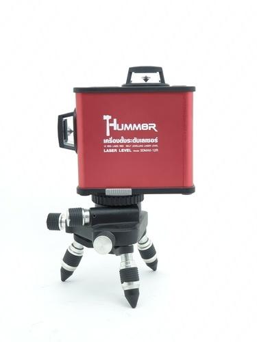 HUMMER HUMMER เลเซอร์วัดระดับแสงสีแดง 12 เส้นพร้อมอุปกรณ์  รุ่น 3DMAX-12R 3DMAX-12R