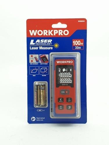 WORKPRO เลเซอร์วัดระยะ (30ม.) W068004   สีน้ำเงิน