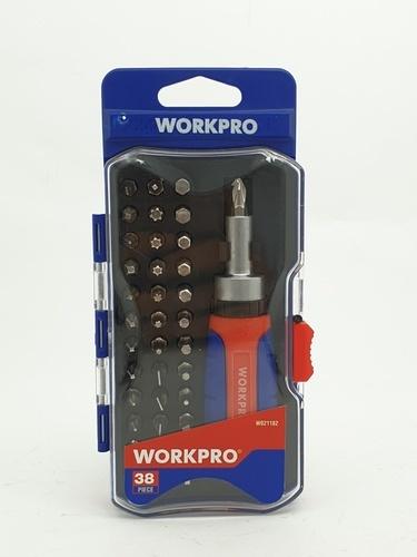 WORKPRO ชุดไขควง 38ชิ้น W021182
