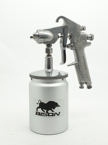 BISON กาพ่นสี  กาล่าง 1.5mm/650ml. S-710S