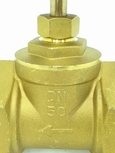VAVO ประตูน้ำทองเหลือง 2 นิ้ว YF-4056-6  สีทอง