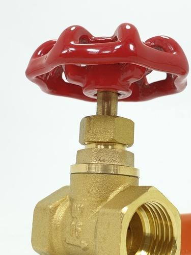 VAVO ประตูน้ำทองเหลือง ขนาด 1/2 นิ้ว   YF-4056-1  สีทอง