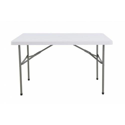 Tree O โต๊ะอเนกประสงค์ ขนาด 4 ฟุต SN-S122-WH สีขาว