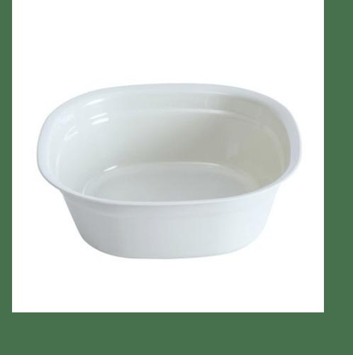 GOME กะละมังพลาสติก ขนาด 24x24x9ซม. SGY019-WH  สีขาว
