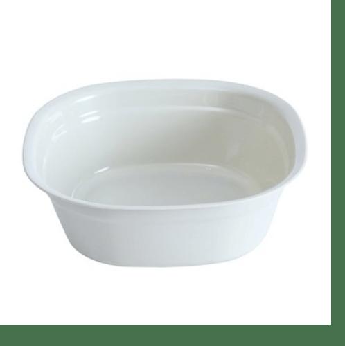 GOME กะละมังพลาสติก ขนาด 27x27x9.5ซม. SGY020-WH สีขาว