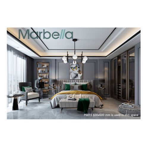 Marbella กระเบื้องปูพื้นโปเตนซา-เกรย์ ขนาด 60x60 P6015