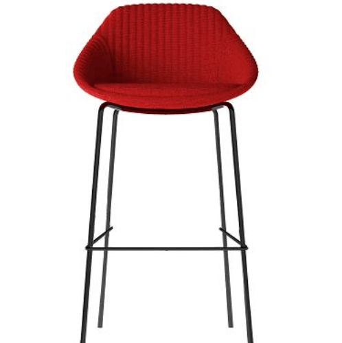 Pulito เก้าอี้บาร์  AR-SYS-CH-09RD  สีแดง