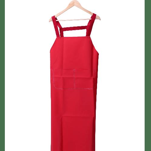 Protx ผ้ากันเปื้อนPVC YJ-08 สีแดง