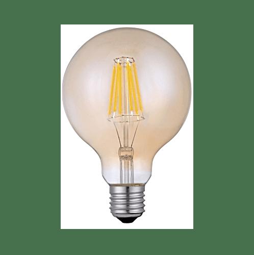 G-LAMP หลอด LED ฟิลาเมนต์ Antique Globe ADS-DP08 4W E27