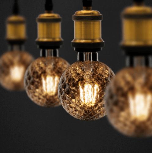 G-LAMP หลอด LED ฟิลาเมนต์ Antique world ADS-DP21 6W E27
