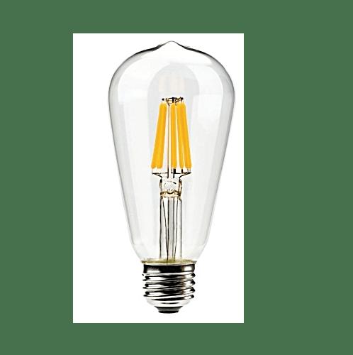 G-LAMP หลอด LED Filament Edison   ADS-DP34 4W,E27