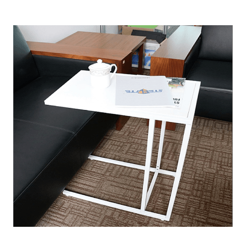 - โต๊ะคร่อมเตียง 55x35x65 ซม. ZSDL006-WH  สีขาว