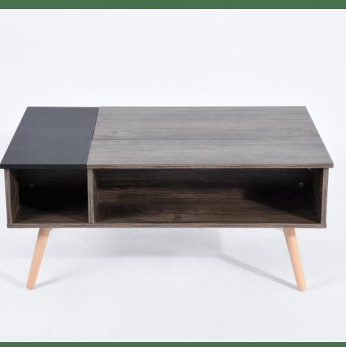 Delicato โต๊ะกาแฟอเนกประสงค์ 100x60x44ซม. Livinston Cofee สีน้ำตาล
