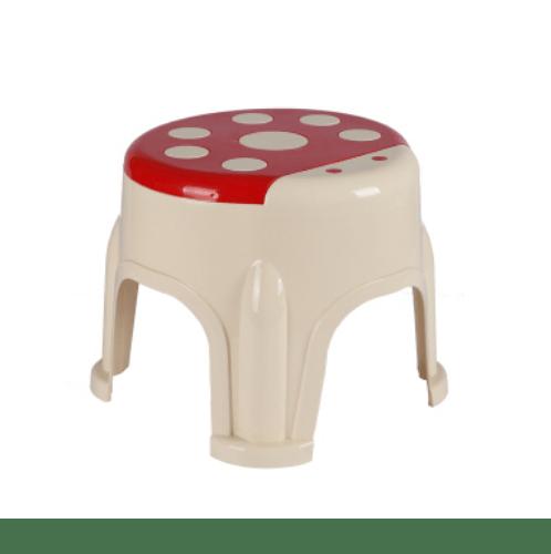 - เก้าอี้เด็กทรงเต่าทอง  ZAJX007-RD ขนาด 26x26x20 cm สีแดง สีแดง