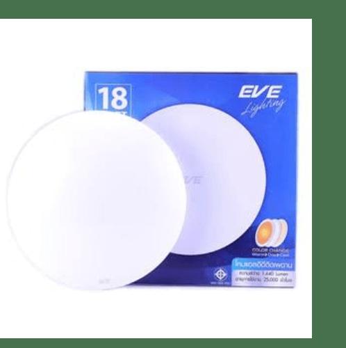 EVE โคมแอลอีดี ติดเพดาน  เปลี่ยนสี 18W.