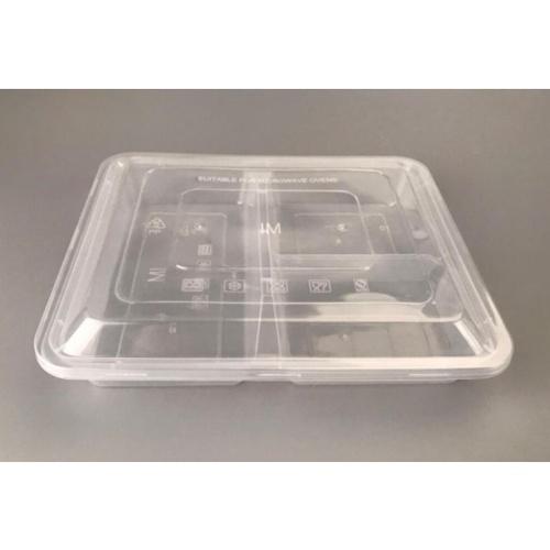 Nibiru กล่องอาหาร 3ช่อง พร้อมฝาพลาสติก PP (15ชิ้น/Pack) Ki-Re-I