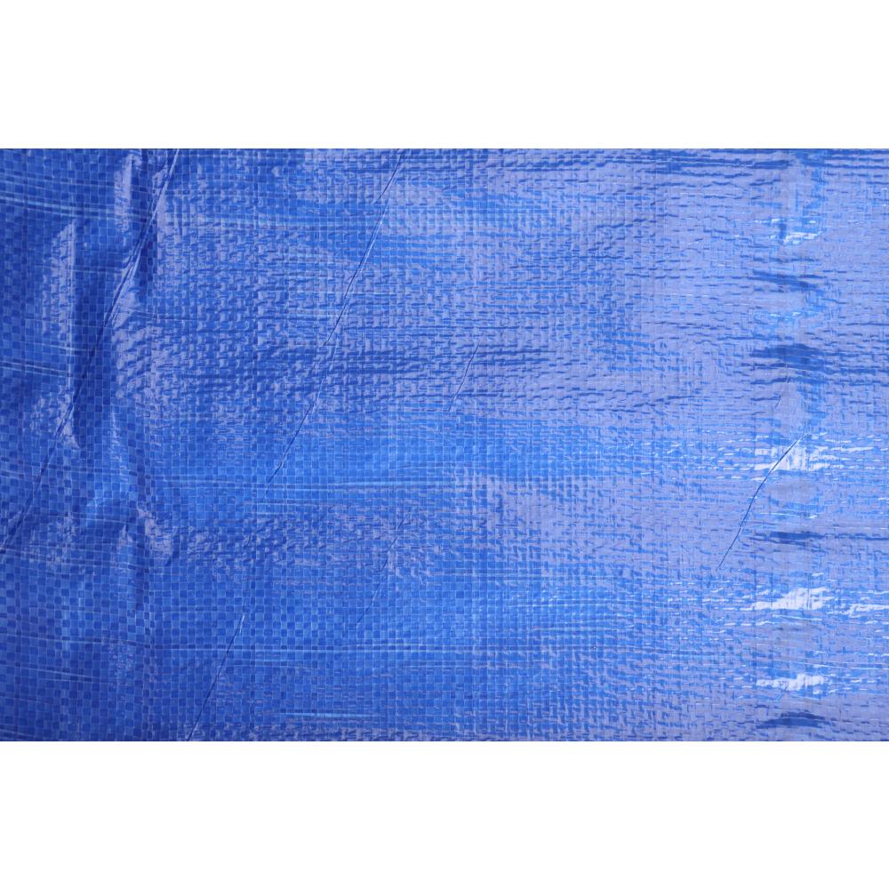 POLLO ผ้าใบสาน PE  ขนาด 1.8 M x 40M สีน้ำเงิน