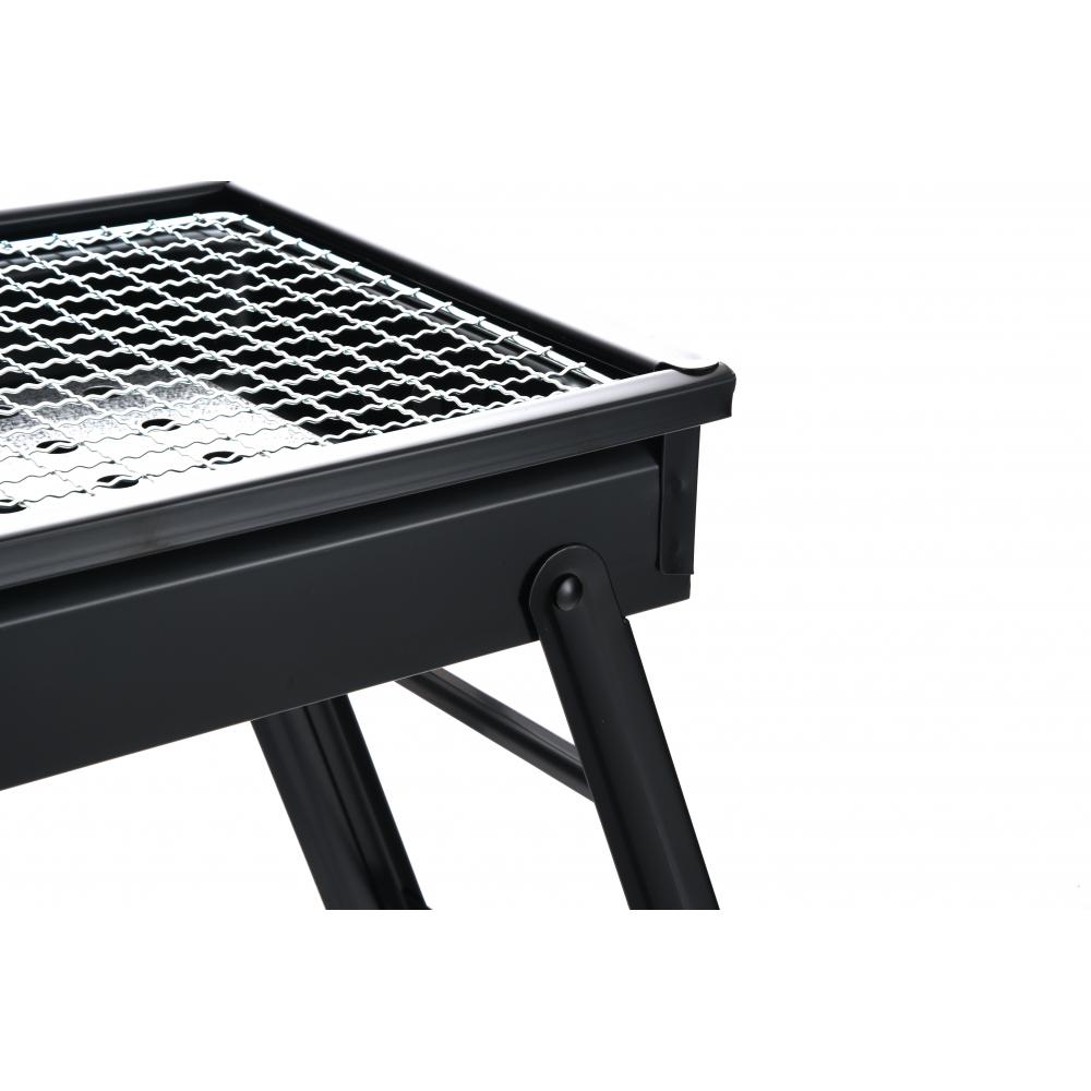 Sane เตาปิ้งย่างบาร์บีคิว ขนาด 65x30x32.5ซม.  Finegrill-BK สีดำ