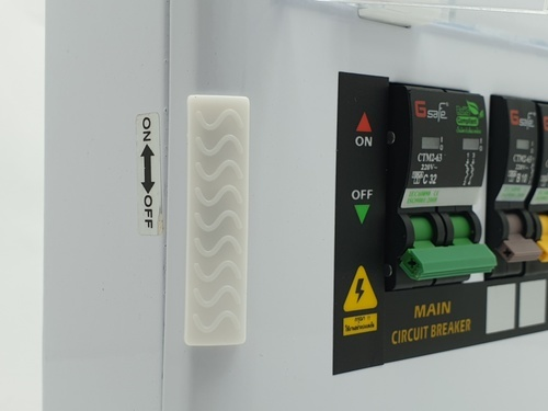 Gsafe ตู้คอนซูเมอร์สำเร็จ G safe-C4/4ช่อง 32A C4 ขาว
