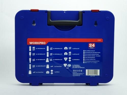 WORKPRO ชุดอุปกรณ์เสริมมัลติทูล 24ชิ้น W124004
