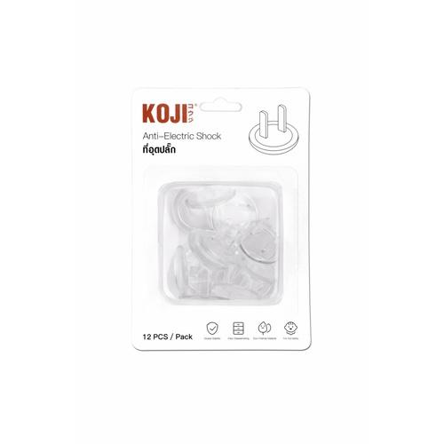KOJI ที่อุดปลั๊ก รุ่น 2FFH041 (12ชิ้น) คละสี 2FFH041 (12ชิ้น) คละสี สีขาว