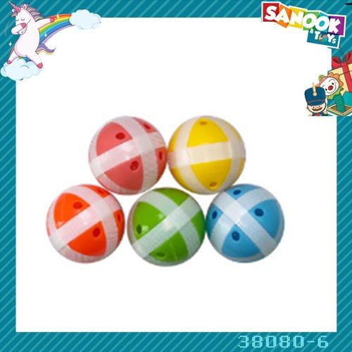 Sanook&Toys ลูกบอลปาเป้า 5 ลูก #38080-6 (13.5x10x11ซม.) คละสี