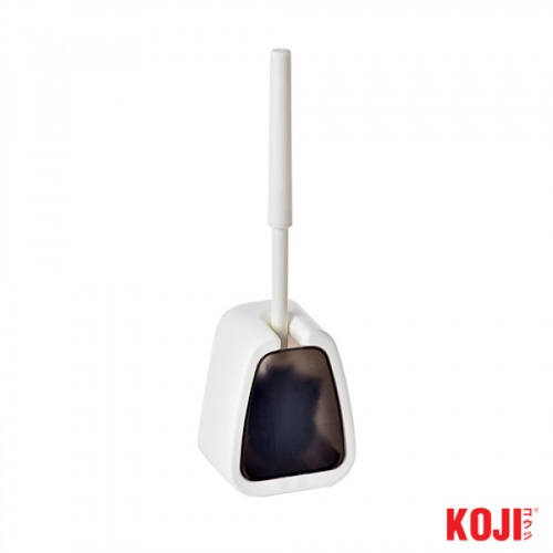 KOJI แปรงขัดห้องน้ำ ขนาด 8.5x12.5x45 cm. 2CQS006-WB  สีดำ