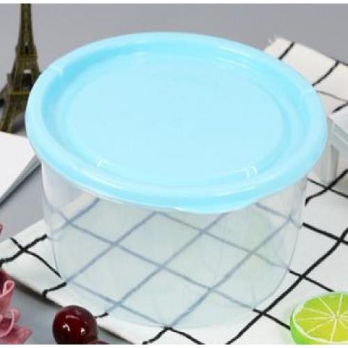 GOME กล่องอาหารพลาสติกทรงกลม  SP0023-BU 1100ML. สีฟ้า