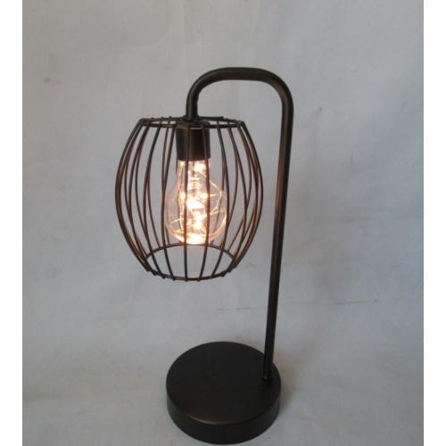 COZY โคมไฟตกแต่ง LED ตั้งโต๊ะ ขนาด  12x12x33 cm. WY3539 สีขาว