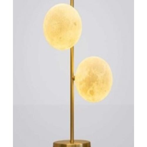 EILON โคมไฟตั้งโต๊ะกระจกลอฟท์  ZS-060-2หัว