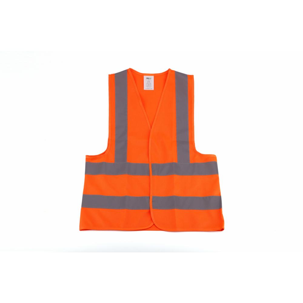 Protx เสื้อจราจรสะท้อนแสง 3แถบ ขนาดM 1ZC-006-M สีส้ม