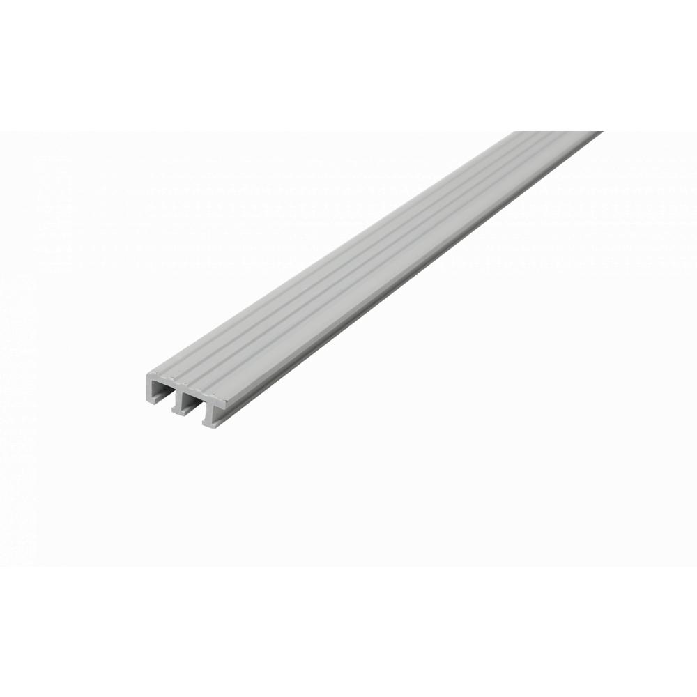 MAC จมูกบันได PVC ขนาด 45/1.5m  GM-45-GY  เทา