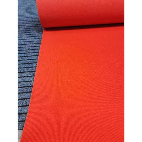 GRAFFE พรมอัดลูกฟูกหนาพิเศษ ขนาด 2x25 เมตร AKR05 สีแดง