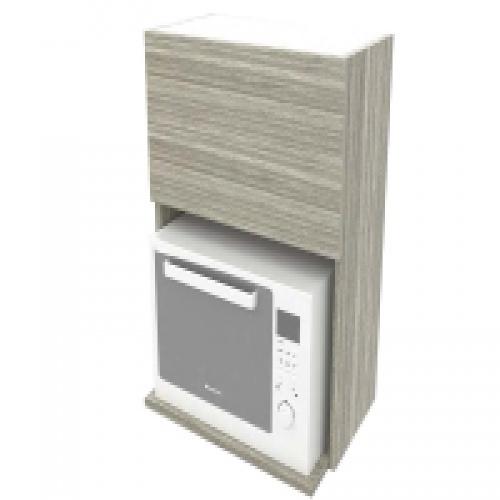 ตู้แขวนไมโครเวฟ 600 : LW104-Dritto Oak สีโอ๊ค LAVAREDO  โอ๊ค