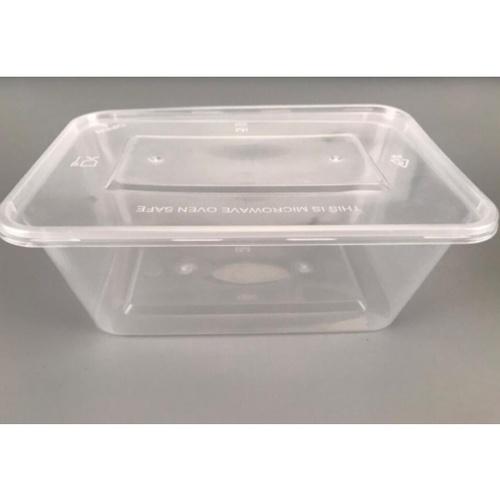 Nibiru กล่องอาหารพร้อมฝาพลาสติก PP 1000ml.  (15ชิ้น/Pack) Ki-Re-I