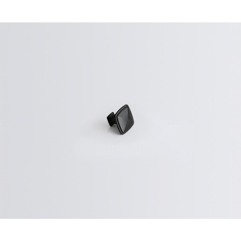 TORSTEN ปุ่มจับเฟอร์นิเจอร์ซิงค์อัลลอยด์ ขนาด  30.5*30.5*24 มม. 6049-KI สีดำ
