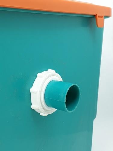 VAVO ถังดักไขมัน 20 ลิตร PQS-PA5 ขาว