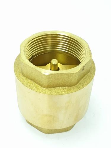 VAVO เช็ควาล์วสปริงทองเหลือง 1.1/2 นิ้ว YF-4054-5 สีทอง