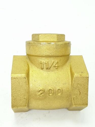 VAVO เช็ควาล์วสวิงทองเหลือง   1 1/4 นิ้ว  YF-4055