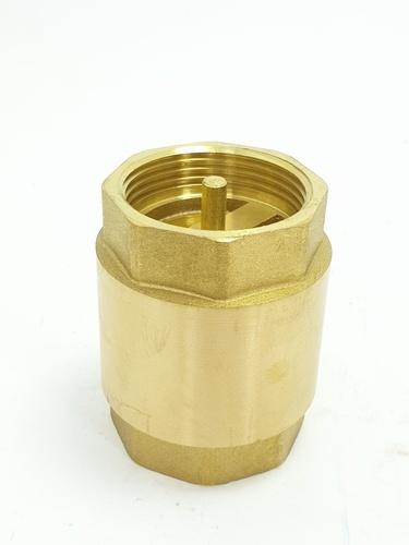 """VAVO เช็ควาล์วสปริงทองเหลือง  YF-4054-4  1 1/4"""""""