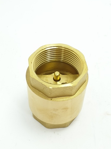 VAVO เช็ควาล์วสปริงทองเหลือง  1 1/4 นิ้ว  YF-4054-4