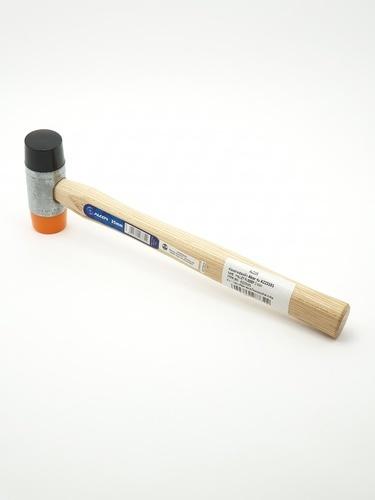 ALCOR ค้อนยางสองหัว A223101 สีน้ำตาล
