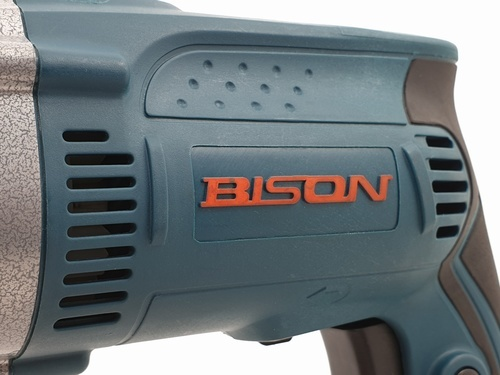 BISON สว่านกระแทก 13mm. 710 W R1630 สีฟ้า