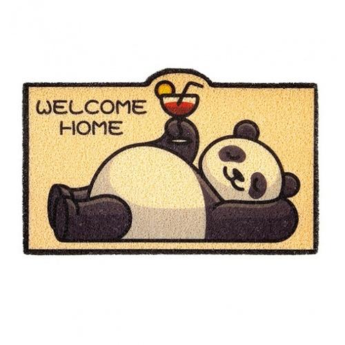 USUPSO พรมเช็ดเท้าลายหมีแพนด้า  ขนาด 60x40x5 (#BG9)
