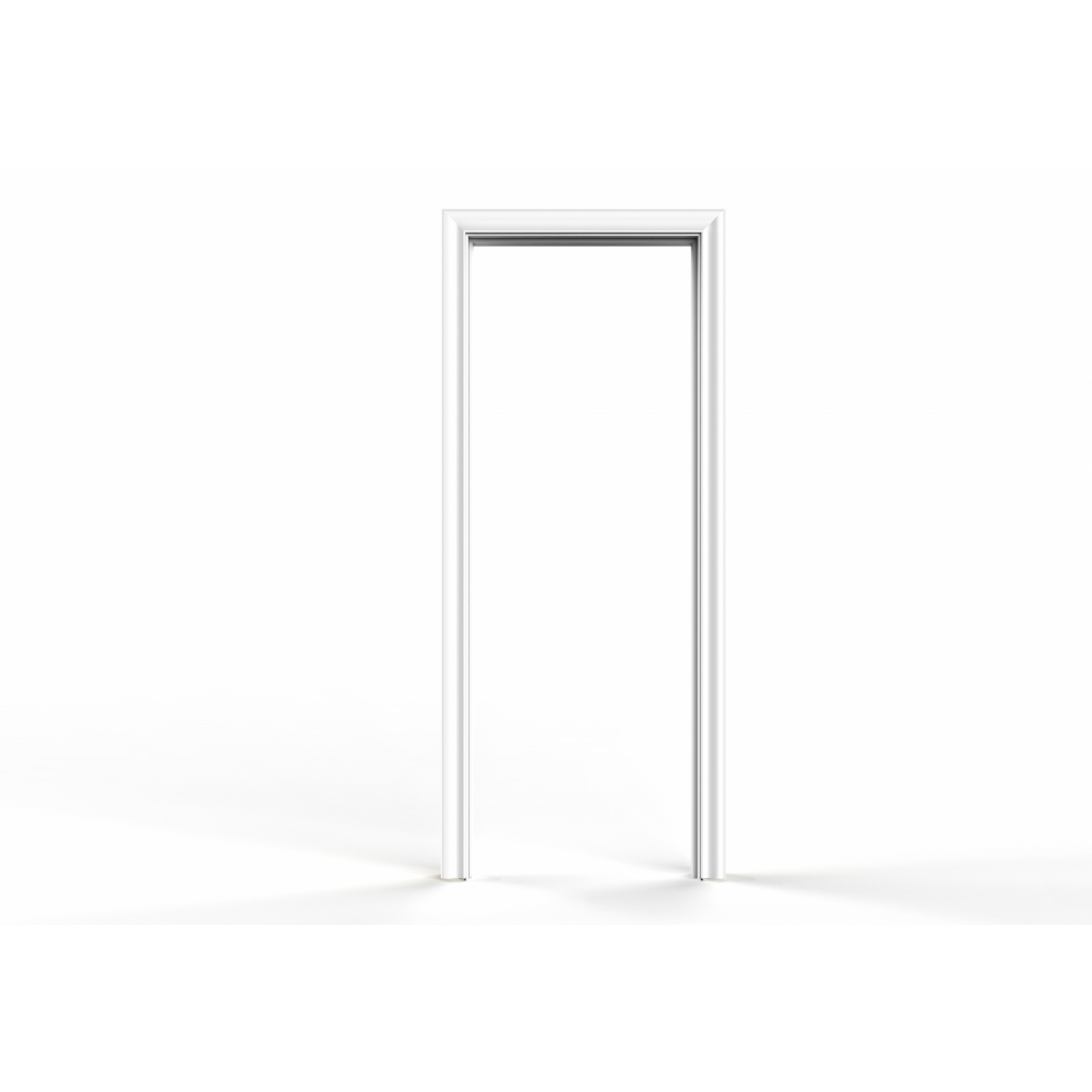 Wellingtan วงกบประตู WPC (พร้อมซับวงกบ) ขนาด  70x200ซม. WHITE  WPCDF-W1-04