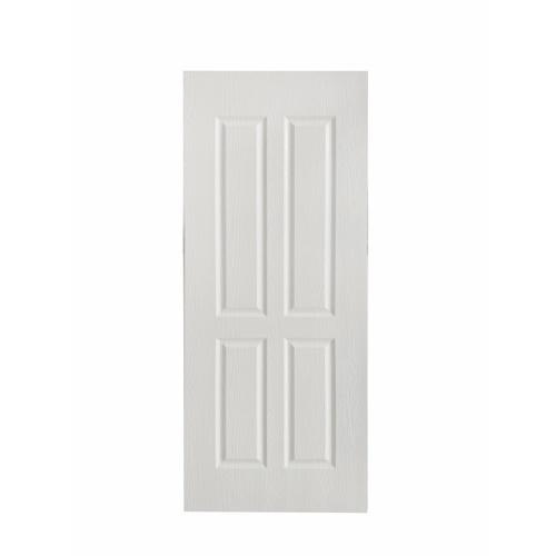 Wellingtan ประตูยูพีวีซี บานทึบ 4ฟักตรง ขนาด 80x200ซม. UPVC-W004P WHITE OAK