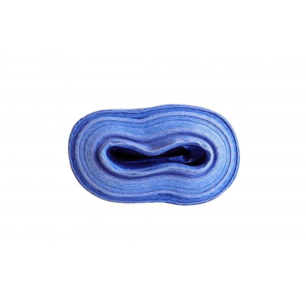 POLLO ผ้าใบสานPP ขนาด  2Yx 40M สีฟ้าขาว