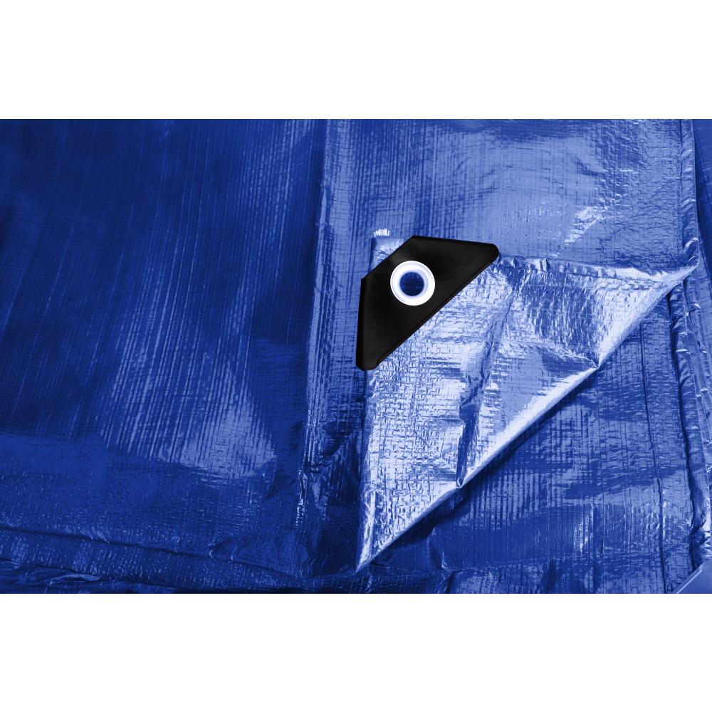 POLLO ผ้าใบสาน PE  ขนาด 2Yx 3M  สีน้ำเงิน