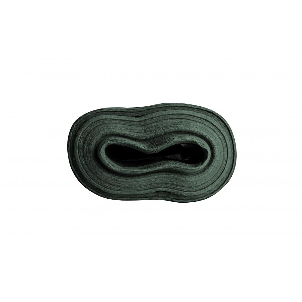 POLLO ผ้าใบสาน PE  ขนาด 1.8 M x 40M สีดำเขียว